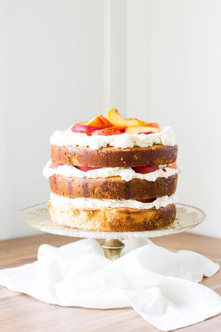 Spiced Peach Cake 9