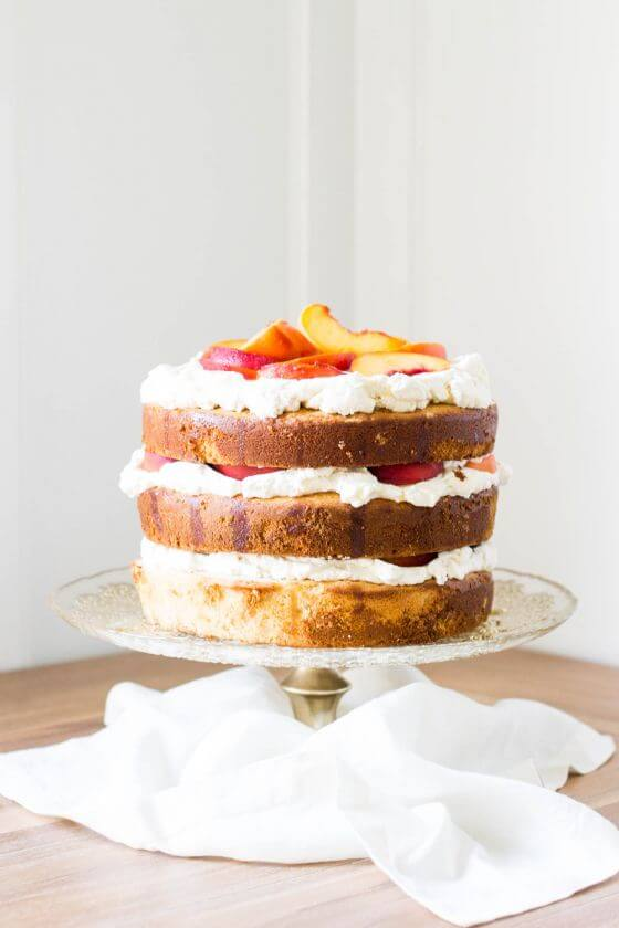 Spiced Peach Cake 9