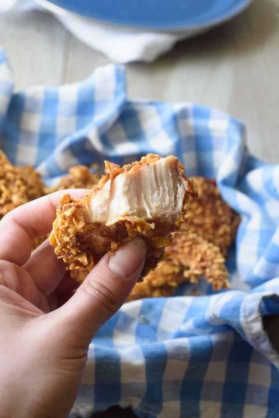 Spicy Cornflake Chicken Bite