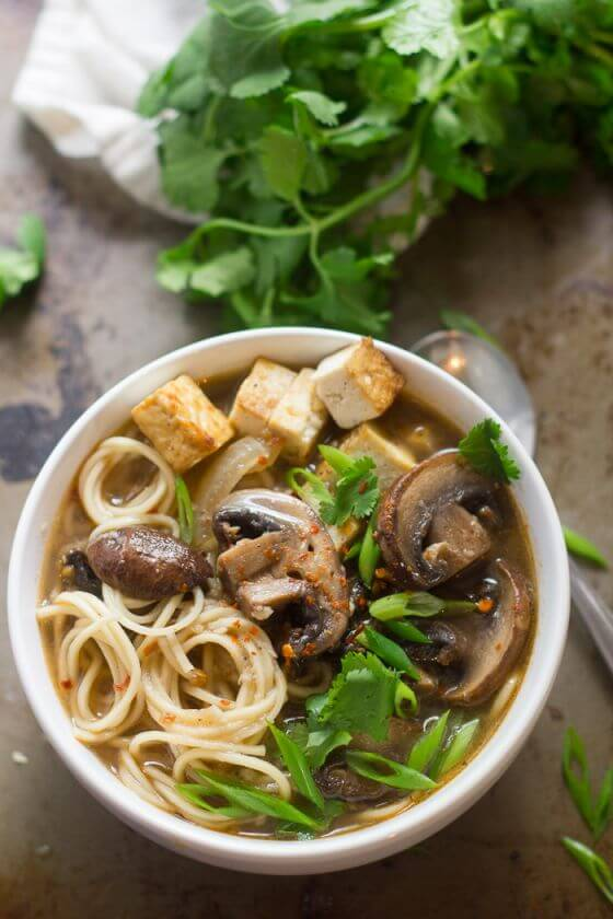 Spicy Mushroom Ramen 2