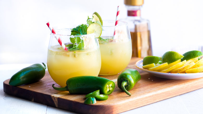 Spicy Pineapple Cilantro Margarita 2