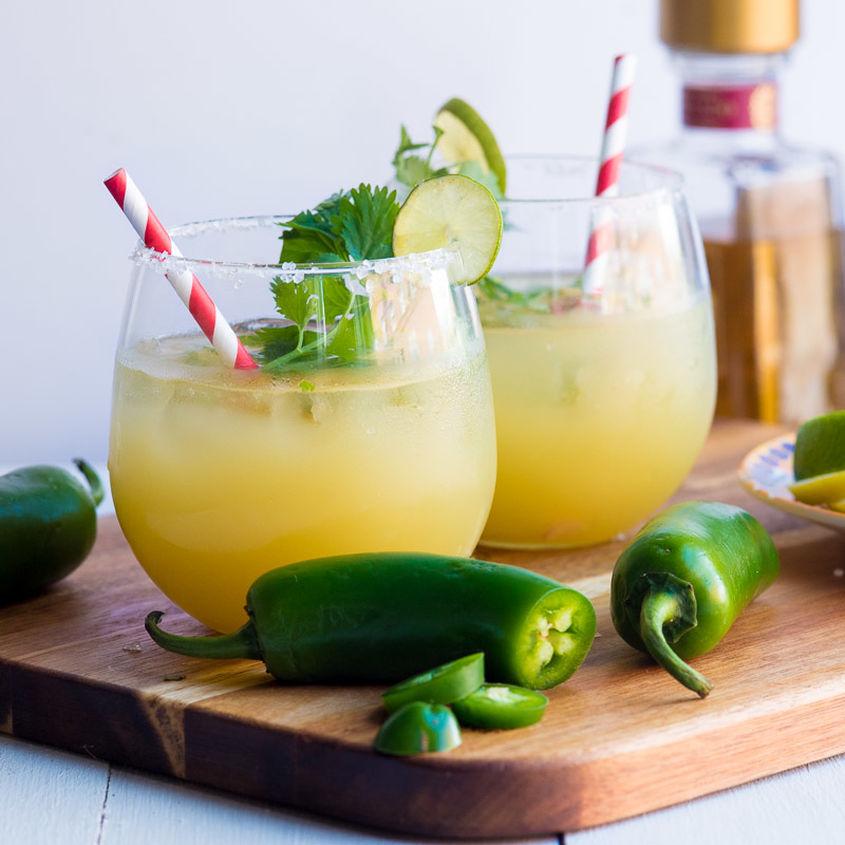 Spicy Pineapple Cilantro Margarita 3