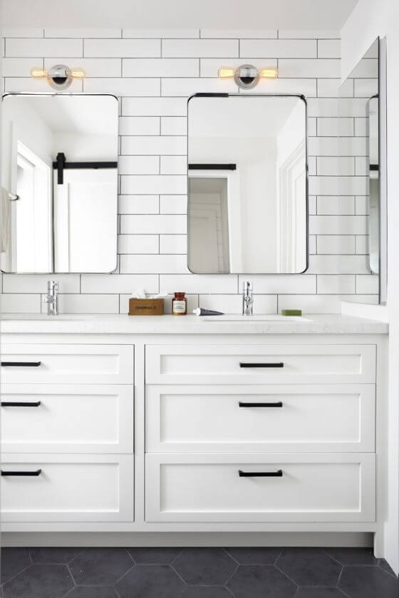 Spring Cleaning Bath Inspired Home