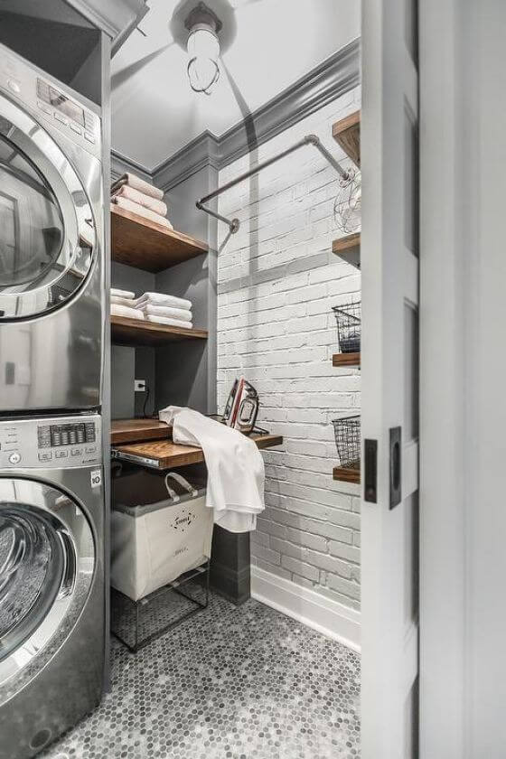 Spring Cleaning Laundry Room Inspired Home