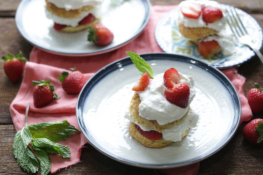 Strawberry Shortcak Recipe 1