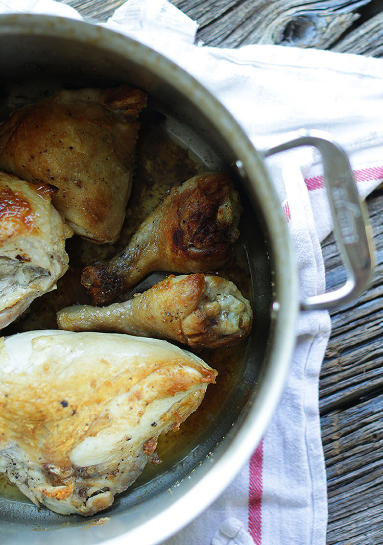 Braised Chicken for Authentic Tacos