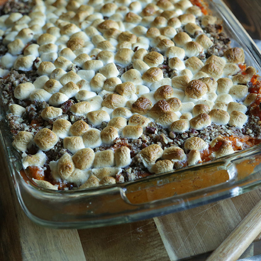Sweet Potato Casserole Web