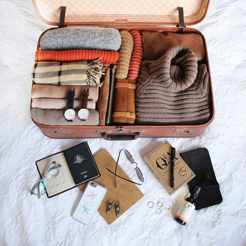 Travel Tips Packing A Suitcase Inspired Home