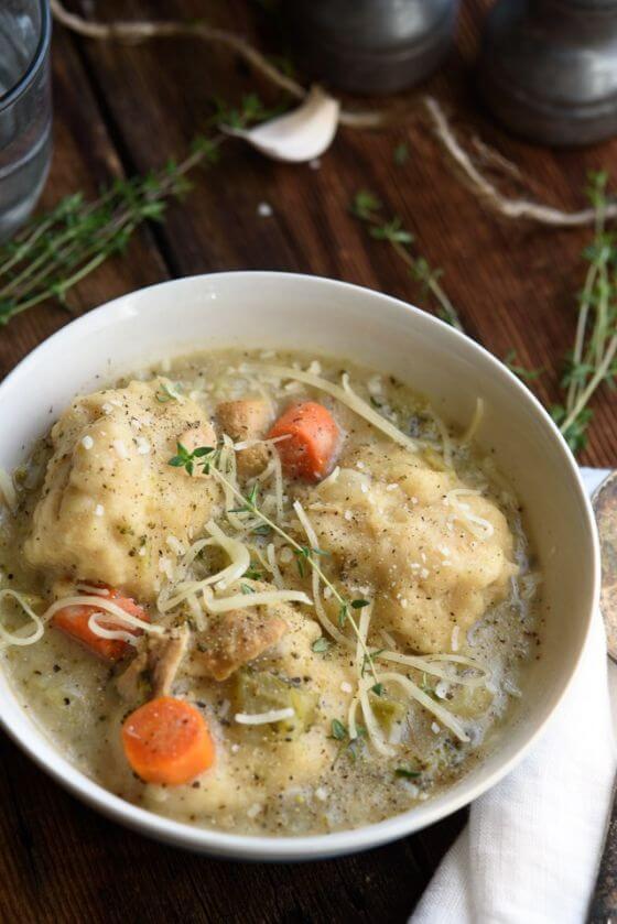 Turkey And Dumpling Soup Recipe