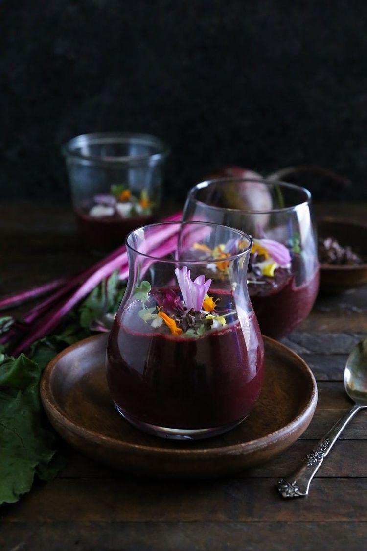 Vegan Beet Chocolate Pudding Paleo