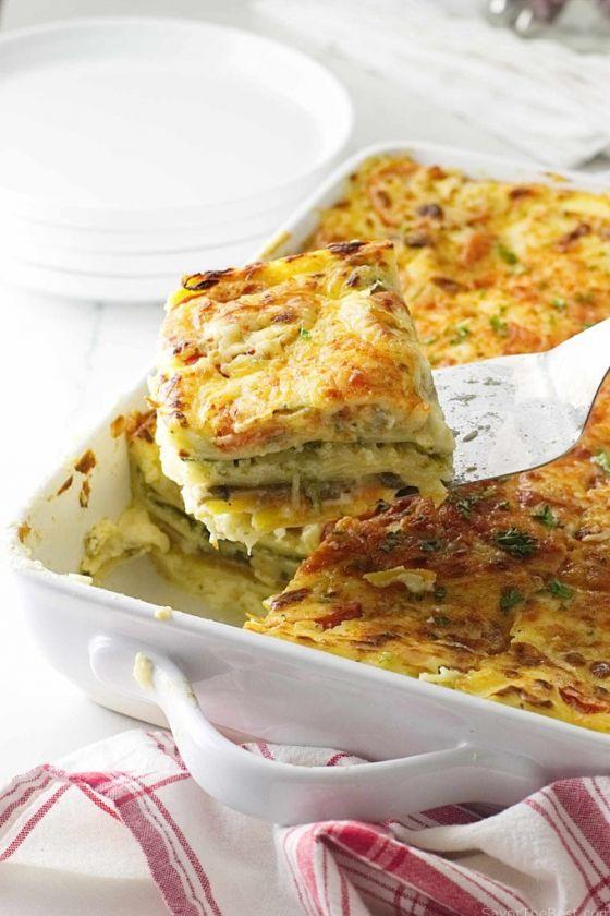 Vegetable Lasagna With Spelt Noodles 0005