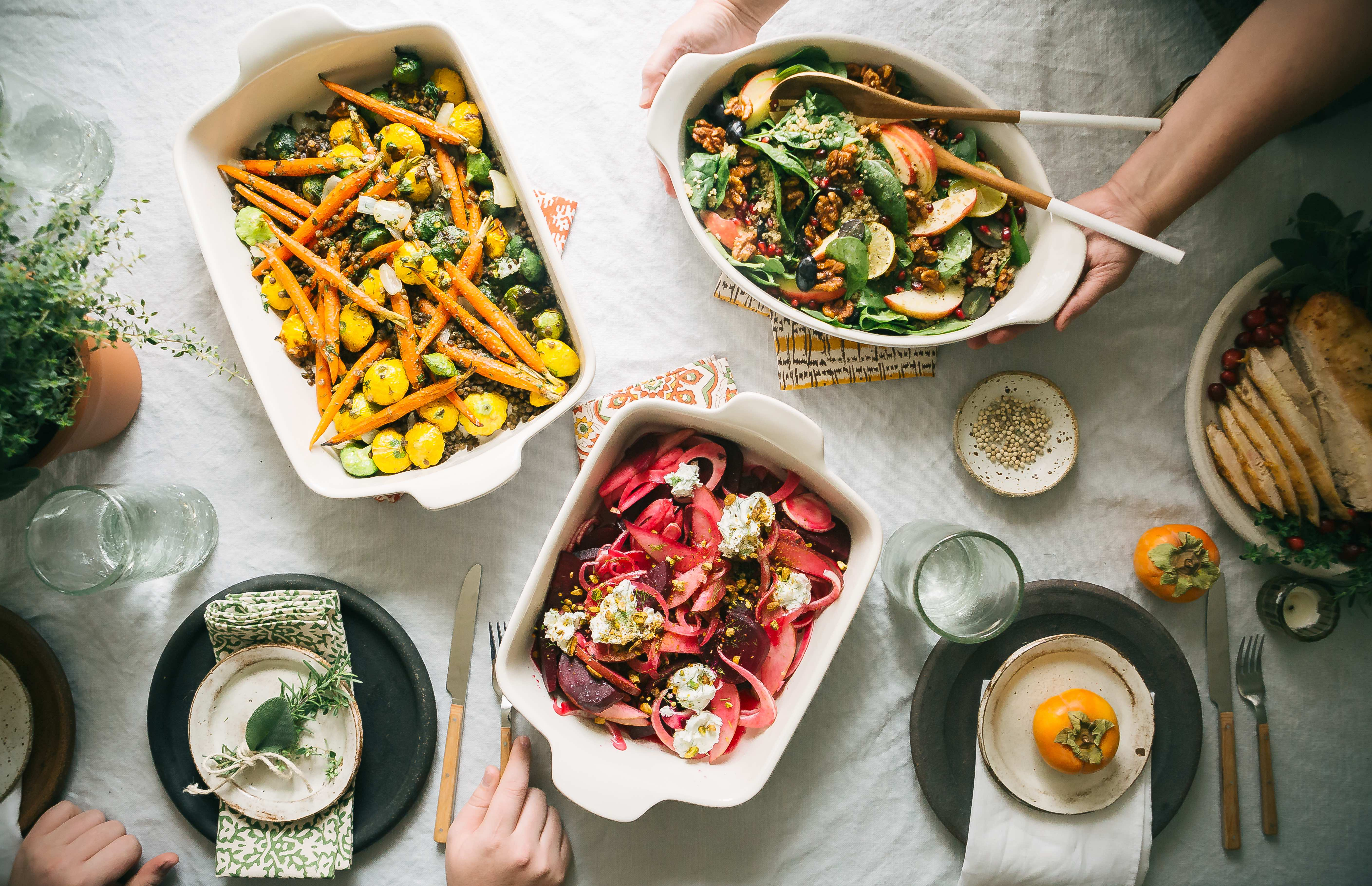 3 Delicious Thanksgiving Sides That Are Also Healthy foto