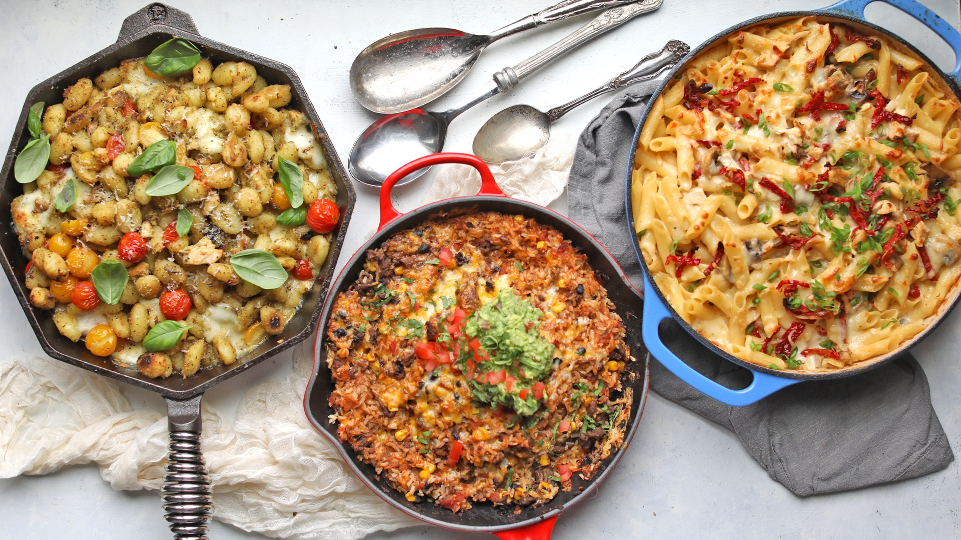 Three Easy One Pan Dinner Recipes For Busy Nights Billy Parisi