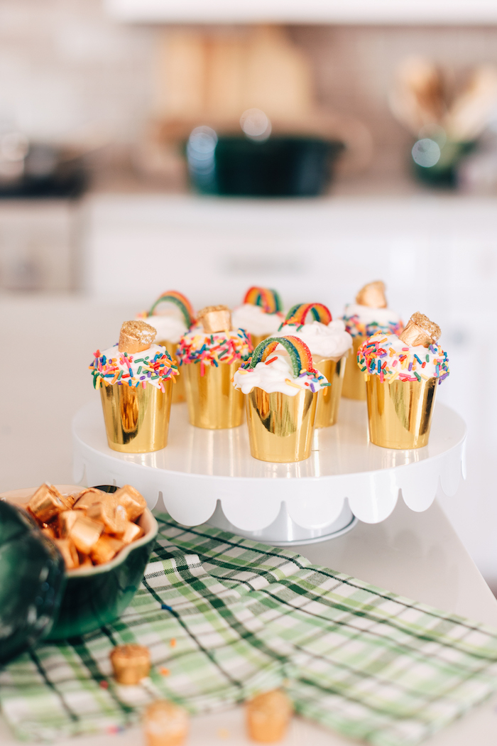 Festive St. Patrick's Day Cupcakes