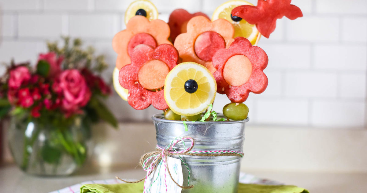 Easy Mother\'s Day Fruit Bouquets | Rebecca Andexler | The Inspired Home
