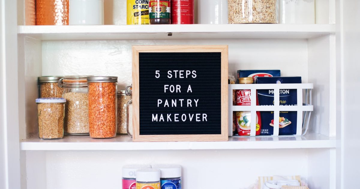 Get Inspired 10 Amazing Pantry Makeovers: 5 Steps To Your Best, Most Organized Pantry