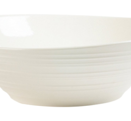 Featured Product Swirl White Pasta Serving Bowl