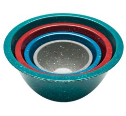 Featured Product Confetti Recycled Plastic Mixing Bowl Set