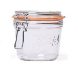 Featured Product French Wide Mouth Glass Canning Jar