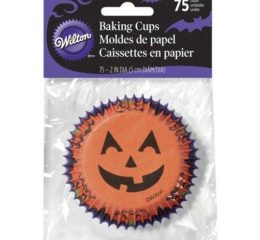Featured Product Halloween Jack O'Lantern Cupcake Liners