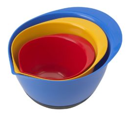 Featured Product Non-Slip Mixing Bowl Set, Multicolor
