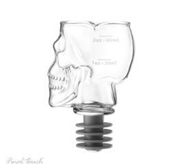 Featured Product Bottle-top Skull Head Jigger Stopper