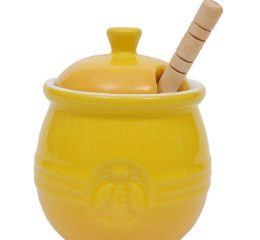 Featured Product Stoneware Honey Pot