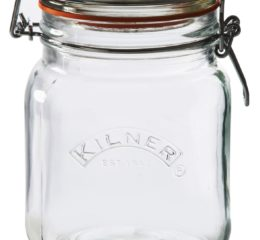 Featured Product Square Clip Top Jar, 34-Fl Oz