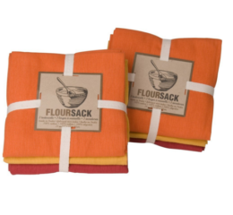 Featured Product Floursack Dishtowels in Marigold