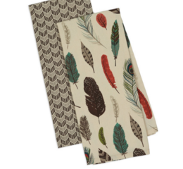 Featured Product Fall Feathers Dishtowel Set