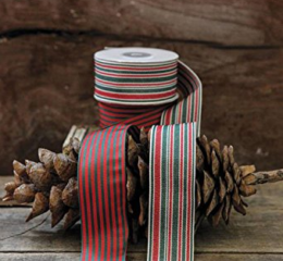 Featured Product Fabric Striped Ribbon