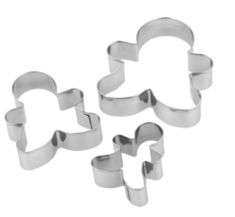 Featured Product Chef Aid Gingerbread Cutters