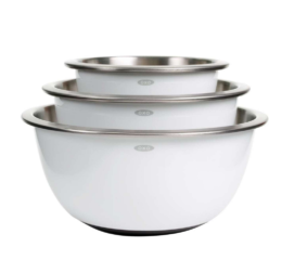 Featured Product 3-piece Stainless Steel Mixing Bowl Set