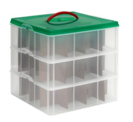 Featured Product Snap 'N Stack Ornament Storage Container