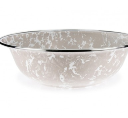 Featured Product Taupe Swirl Serving Basin