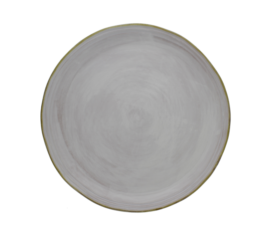 Featured Product 15-inch White Stoneware Round Platter
