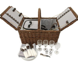 Featured Product Seaside: Cape Cod Wicker Picnic Basket