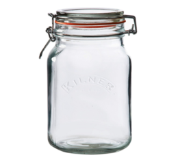 Featured Product Square Clip Top Jar
