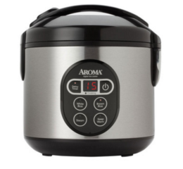 Featured Product 8-Cup Digital Cool-Touch Rice Cooker and Food Steamer