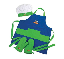 Featured Product 4-piece Child Chef Textile Set
