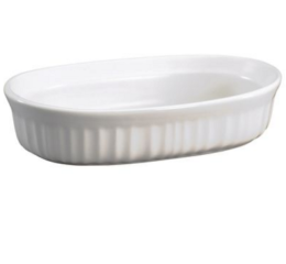 Featured Product French White Oval Casserole Dish