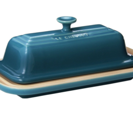 Featured Product Stoneware Butter Dish in Caribbean