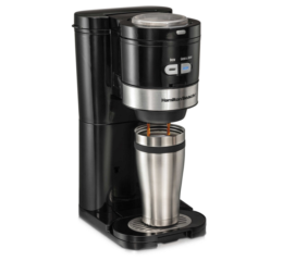 Featured Product Grind and Brew Single-Serve Coffee Maker
