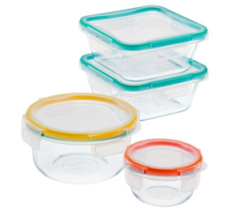Featured Product Total Solution Pyrex Glass Food Storage 8-pc Set