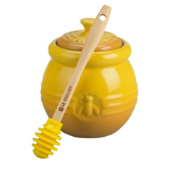 Featured Product Honey Pot with Silicone Dipper