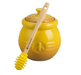 Featured Product Honey Pot with Silicone Dipper in Dijon