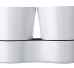 Featured Product Hydro Twin Herb Pot in White