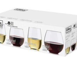 Featured Product Vineyard Reserve Stemless Glassware Set