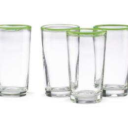 Featured Product Grass Rim 4-piece Highball Glass Set