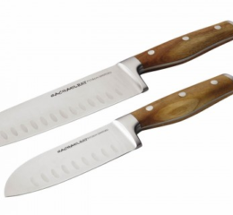 Featured Product Cucina Cutlery 2-Piece Japanese Stainless Steel Santoku Knife Set